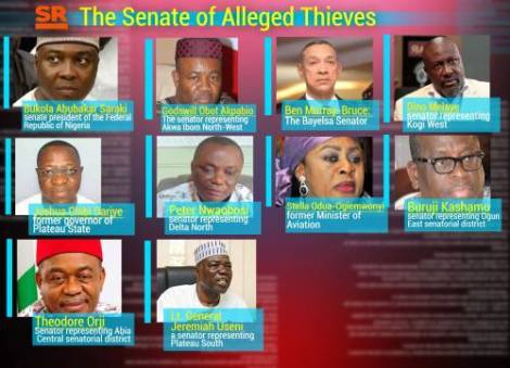SENATE DEN OF THIEVES