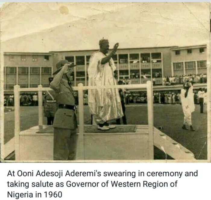 Oonirisa was once the Governor of western Nigeria