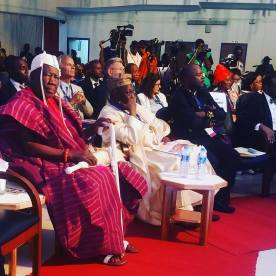 OLUBADAN AT IITA 50th YEARS ANNIVERSARY