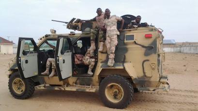 1 NIGERIAN ARMY TROOPS