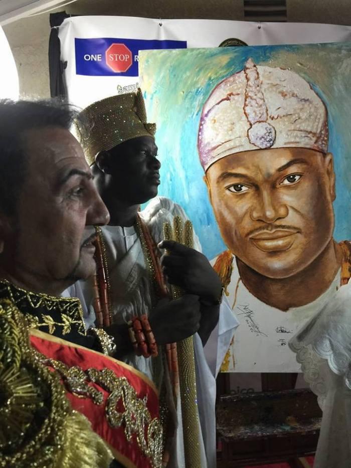 1 Ooni of Ife King of Cryptorealism Artist Davood Roostaei
