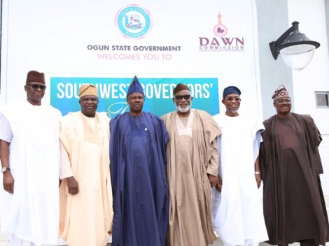 1 South-West-Governors