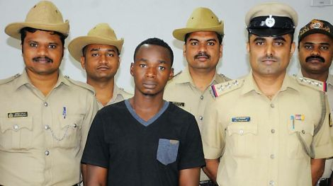 30-Year-Old Nigerian Arrested In India For Trafficking Cocaine Hard Drugs