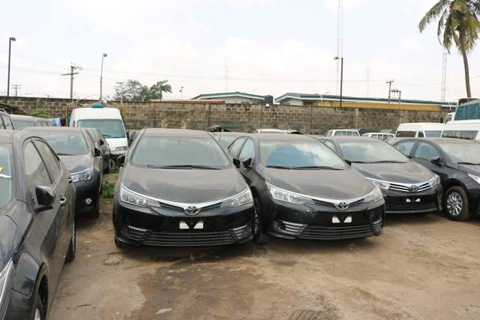 64 Assorted Vehicles Including Bullet Proof Jeeps Intercepted By Customs Officials. Photos4