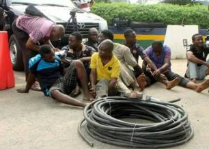 Cable thieves in Lagos1