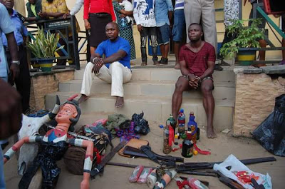 Cultists & Robbers Arrested By Akwa Ibom Police