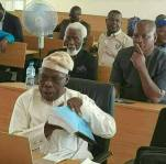 Obasanjo At His PhD External Defence at the National Open University of Nigeria7