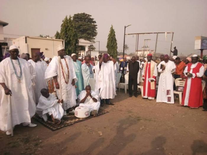 Ooni Preaches Peace