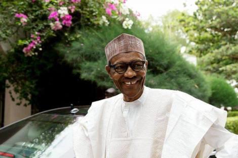 buhari very very happy