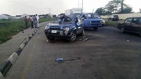 SUV somersaulted
