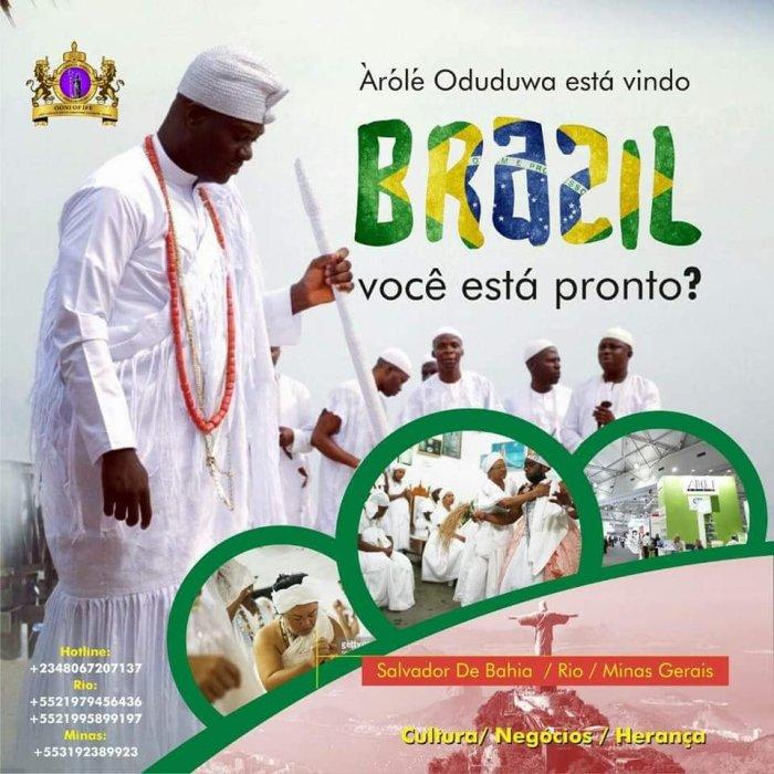 OONI VISITS BRAZIL