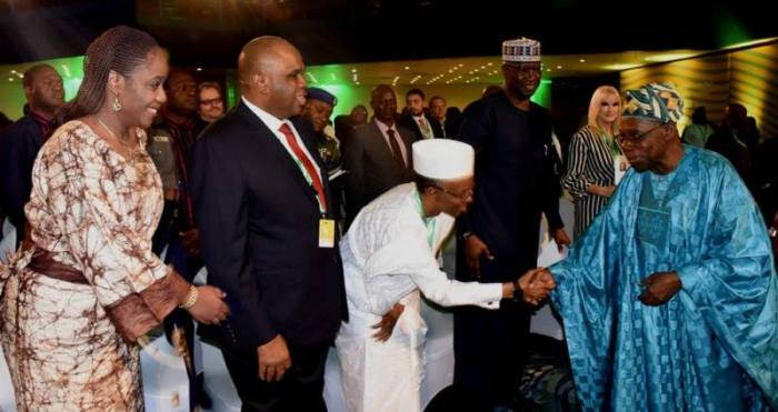 Obasanjo shuns VIP seat at Abuja event