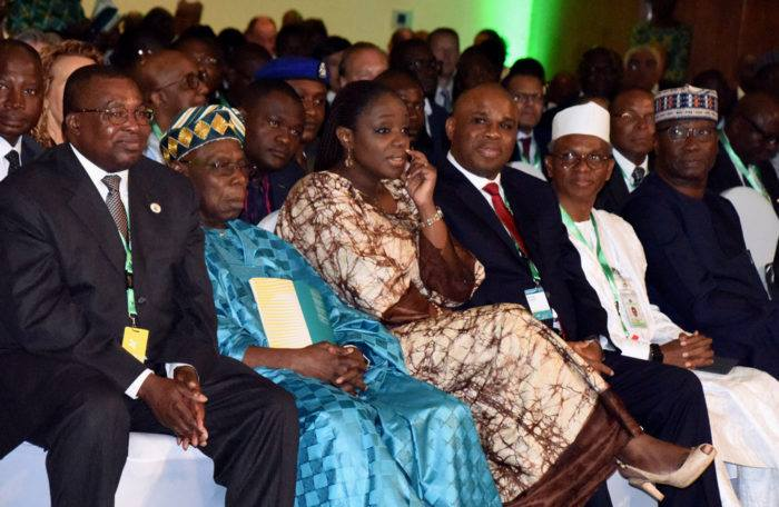 Obasanjo shuns VIP seat at Abuja event2